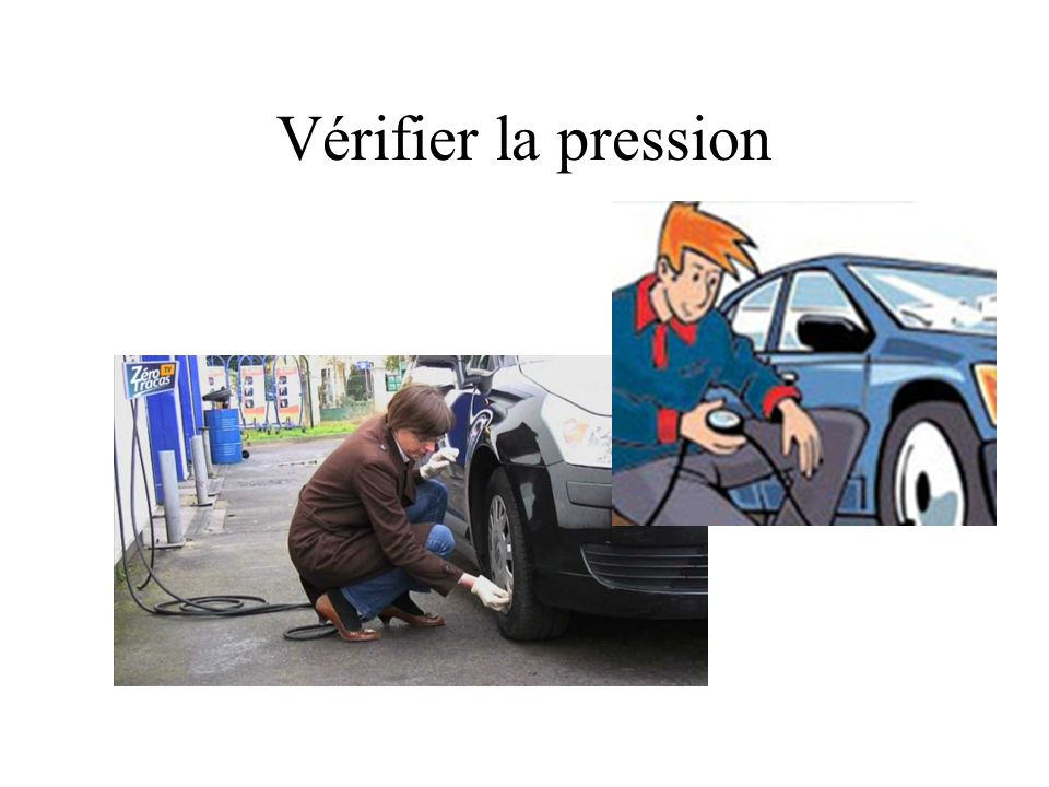 Vérifier la pression
