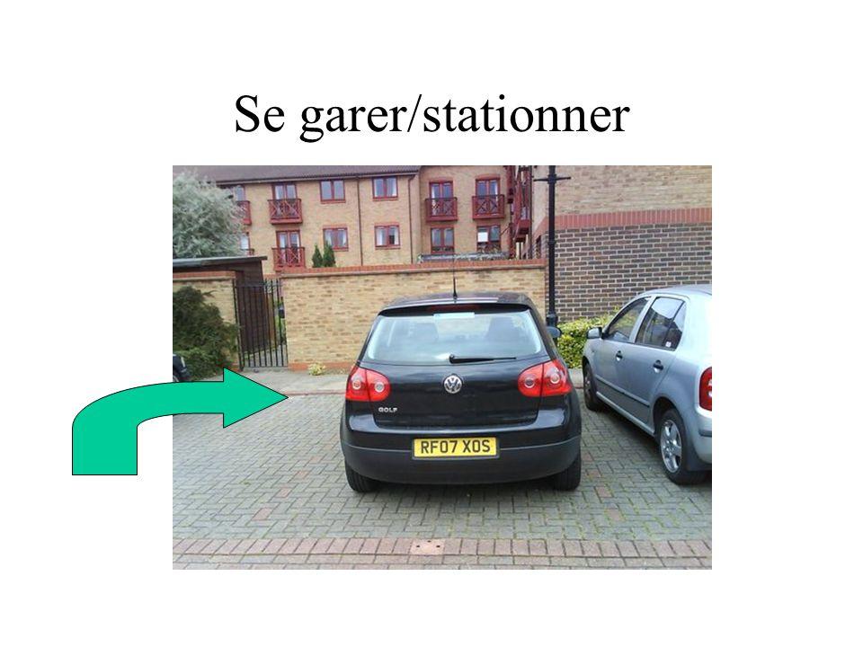 Se garer/stationner