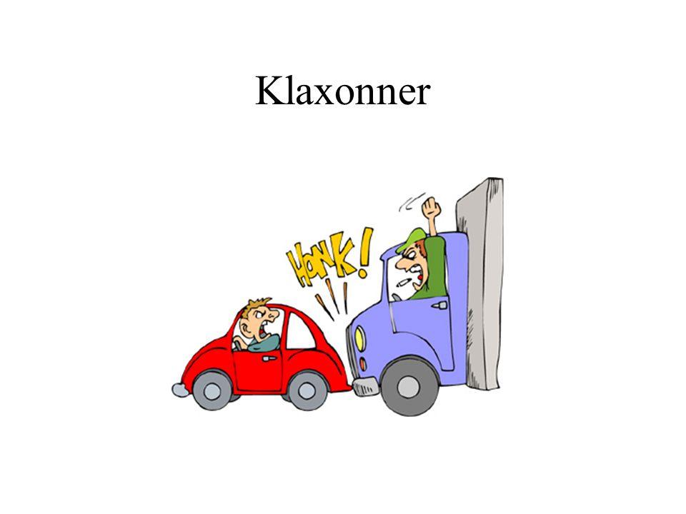 Klaxonner