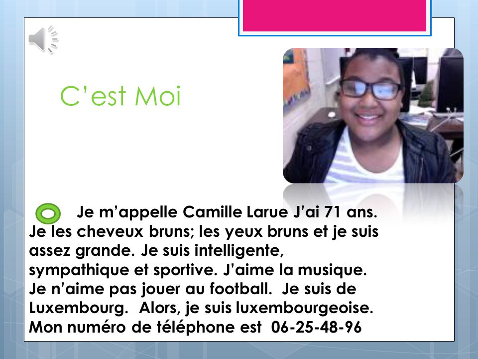 Ma Famille Camille Leroy