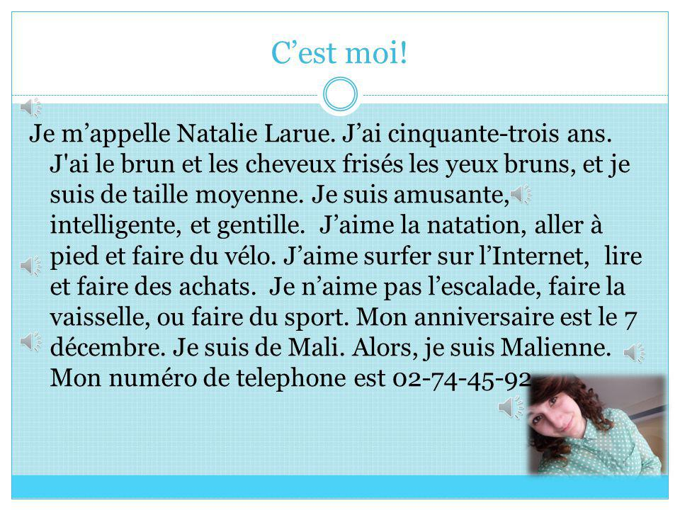 BY, THERESA ZOBITNE Ma Famille Larue