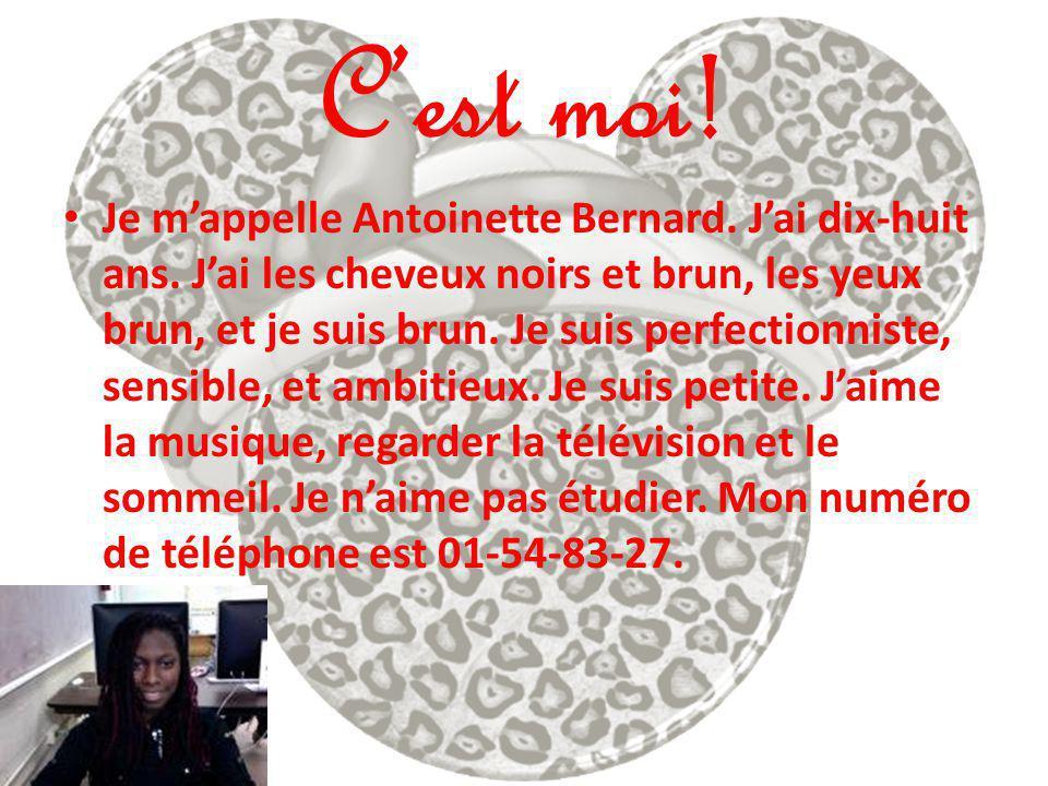 Jérôme Bernard Jérôme 21 ans.