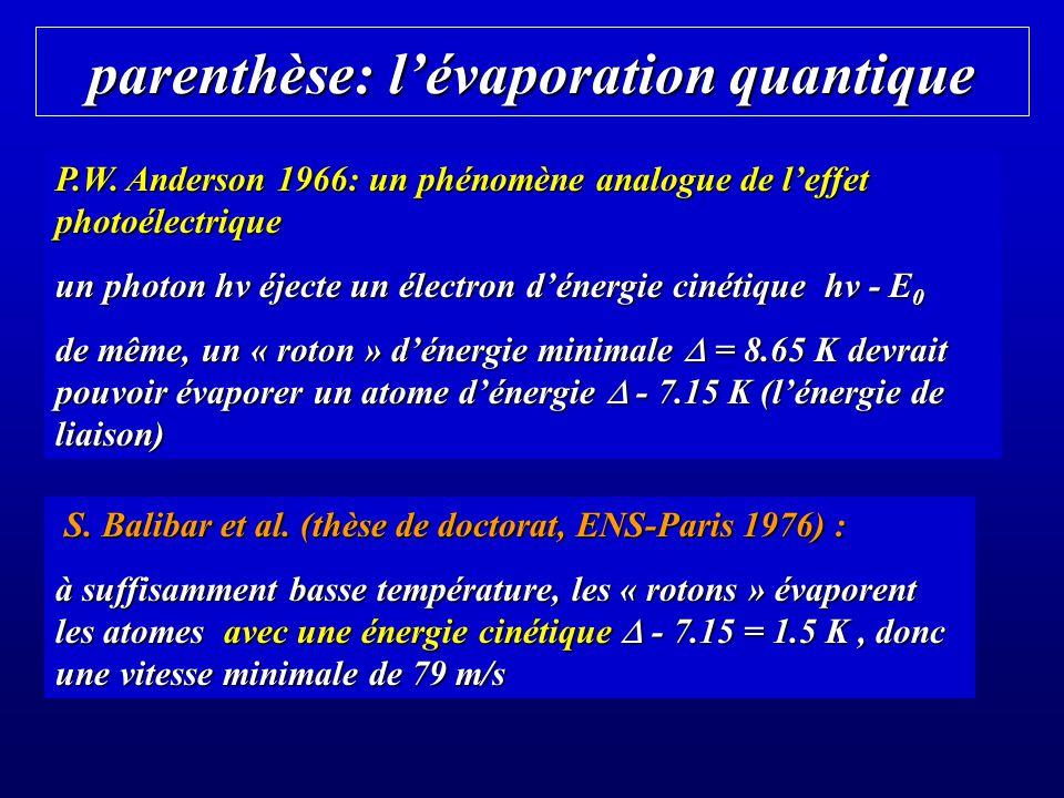 Une hydrodynamique non-classique écoulement classique dans un capillaire de rayon R, longueur l, viscosité, pression P débit Q (loi de Poiseuille) : Q = R 4 P / (8 l) J.F.