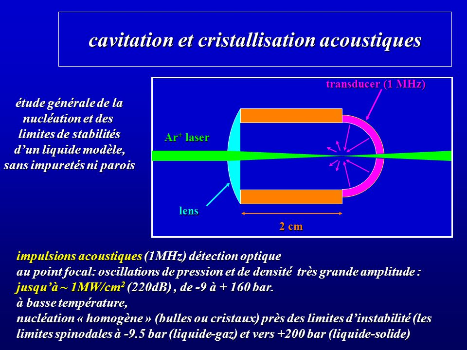 on a clean glass plate, nucleation of solid He is still heterogeneous E/ = -3.84 10 4 Kcm 3 /g c /T = - 2.6 10 -4 g/cm 3 K the nucleation probability increases continuously from 0 to 1 in a small density interval, as expected for nucleation due to thermal or quantum fluctuations.
