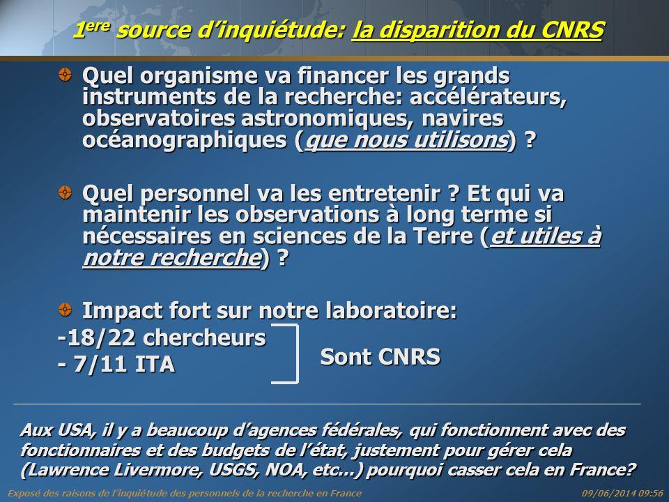 Exposé des raisons de linquiétude des personnels de la recherche en France « Les enseignants sont insupportables, infréquentables, haïssables.