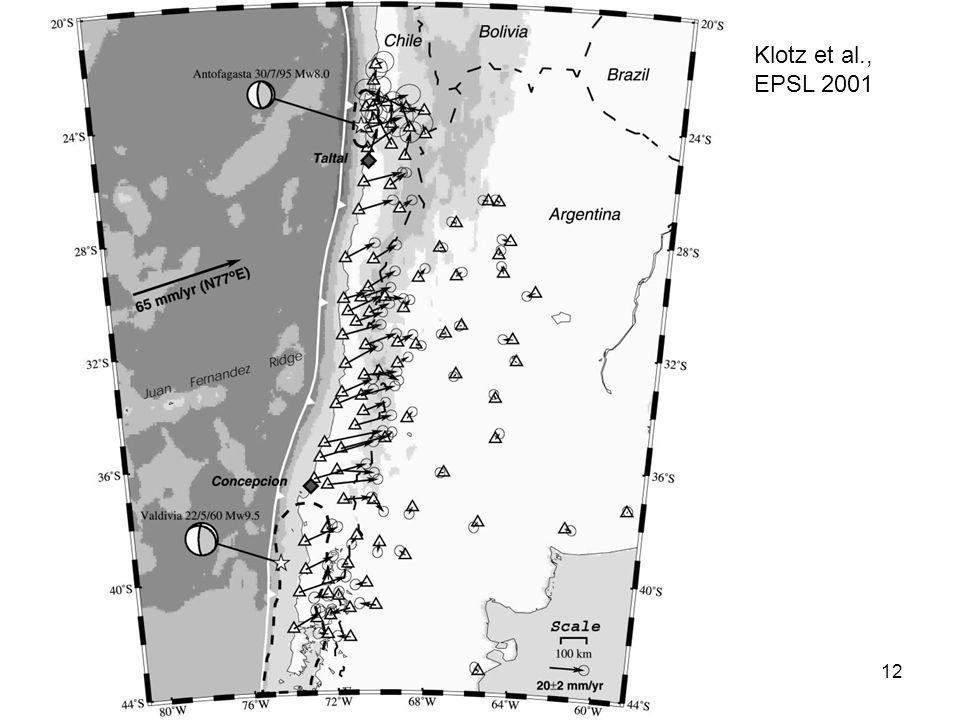 12 Klotz et al., EPSL 2001