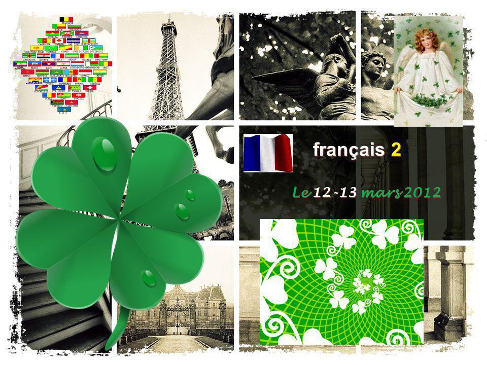 français 2 Le 12-13 mars 2012