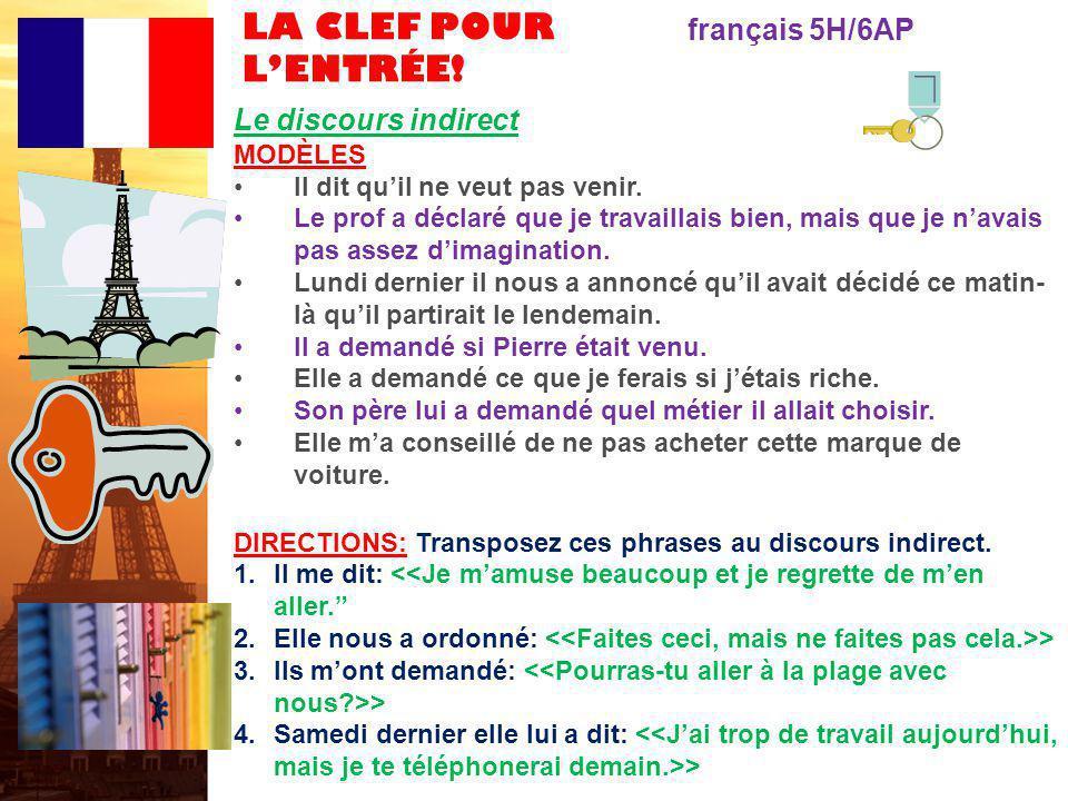 français 6AP le 12-13 mars 2012 ActivitéClasseur Pas dentrée .