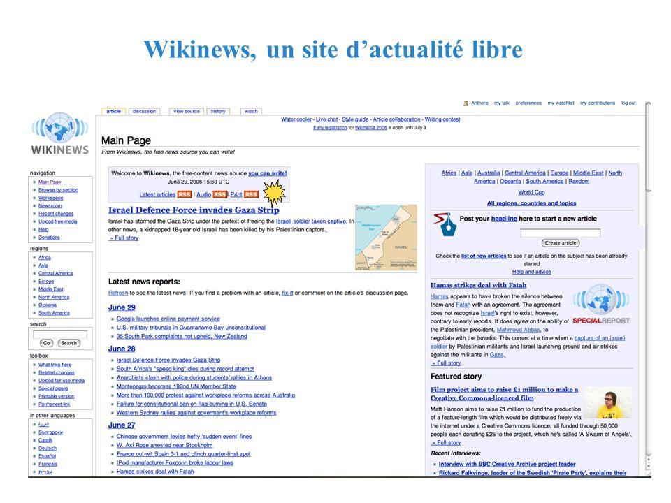 RMLL - Juillet 2006 - Florence Devouard Wikinews, un site dactualité libre
