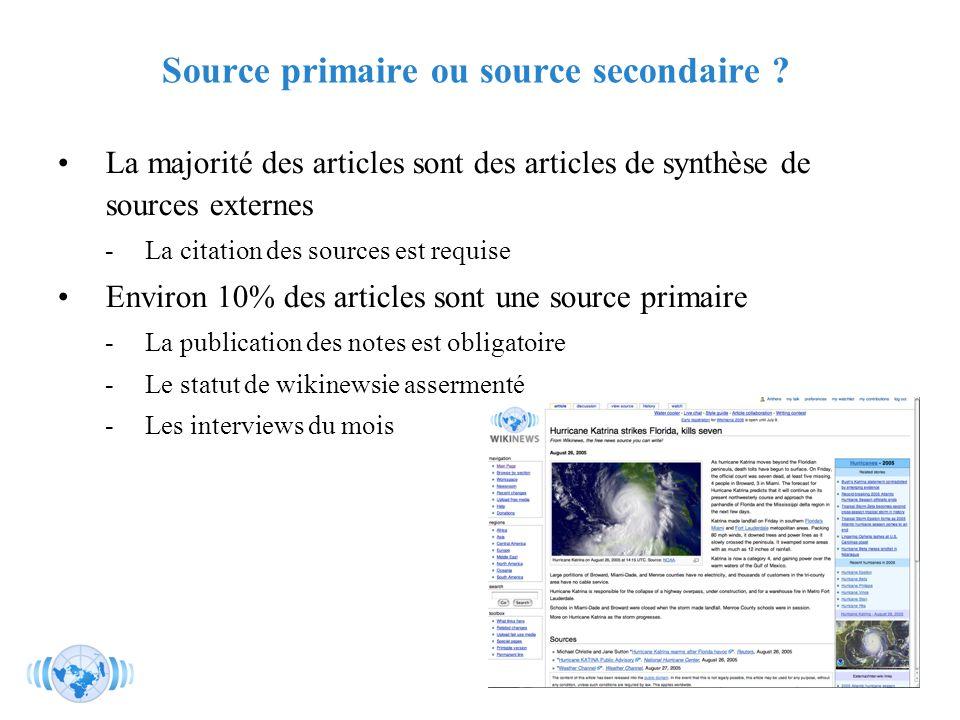 RMLL - Juillet 2006 - Florence Devouard Source primaire ou source secondaire .