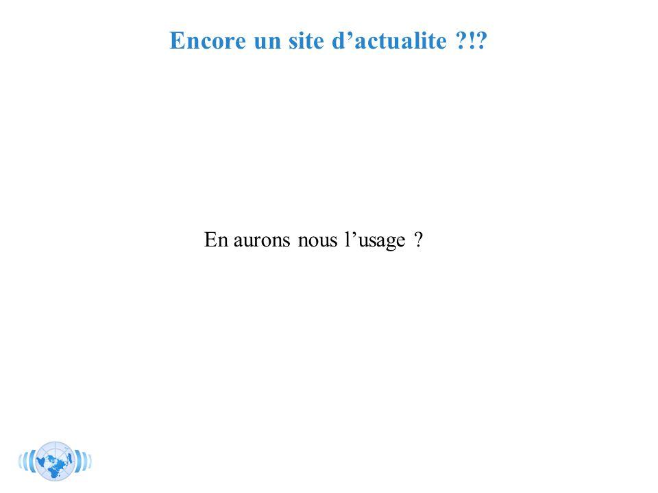 RMLL - Juillet 2006 - Florence Devouard Encore un site dactualite ?!? En aurons nous lusage ?