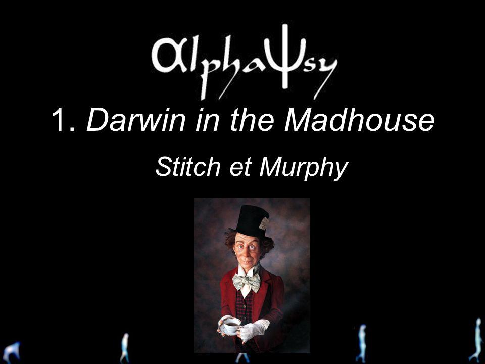 Le Divan de Darwin La psychiatrie évolutionniste à lâge adulte 29 Mars 2006