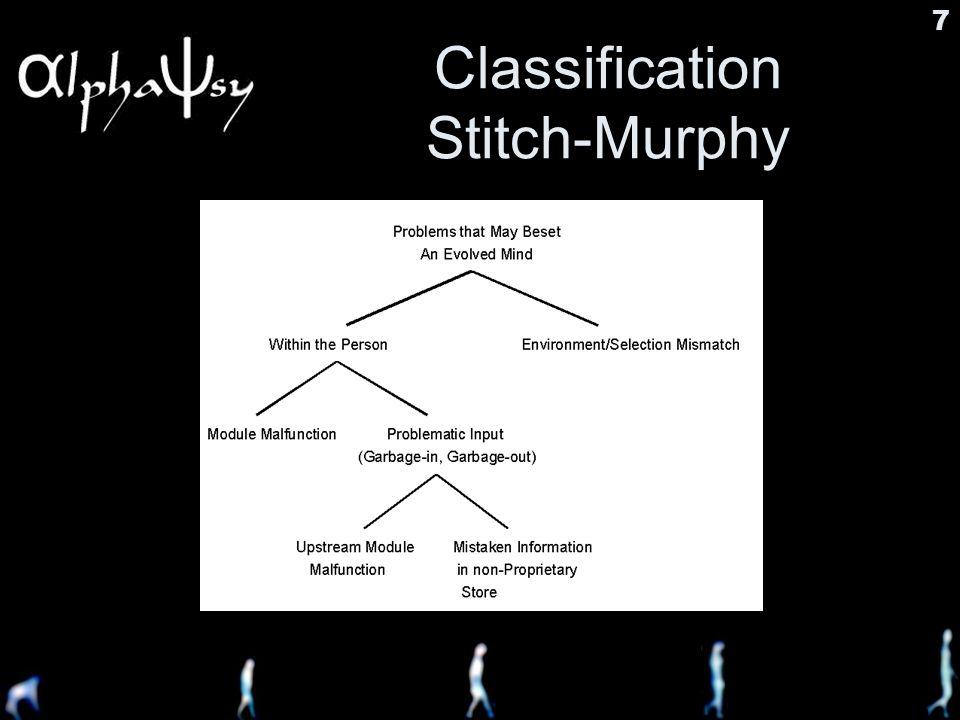 7 Classification Stitch-Murphy