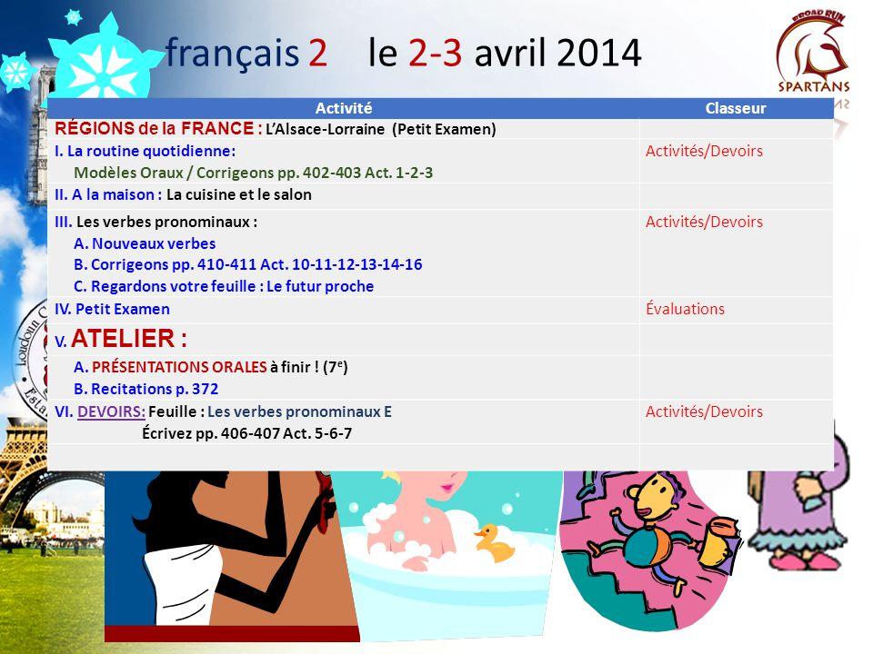 LAlsace RÉGION DE LA FRANCE VILLES /LIEUX IMPORTANTS: ______________: une ville située sur la rive gauche du Rhin, entre la France et ______________.