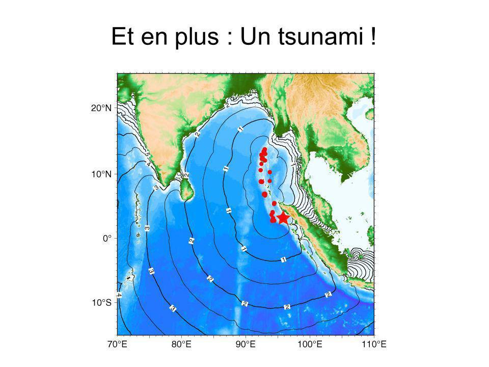 Et en plus : Un tsunami !