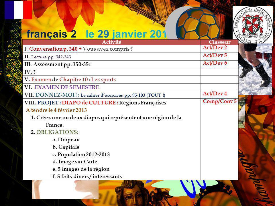 REGION: A. Informations Générales: CAPITALE: POPULATION 2012-2013: B. Faits Divers: 1. 2. 3. 4. 5.