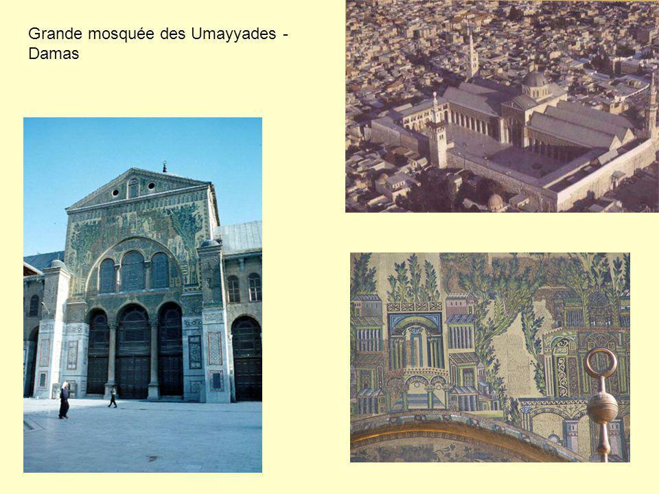 Grande mosquée des Umayyades - Damas