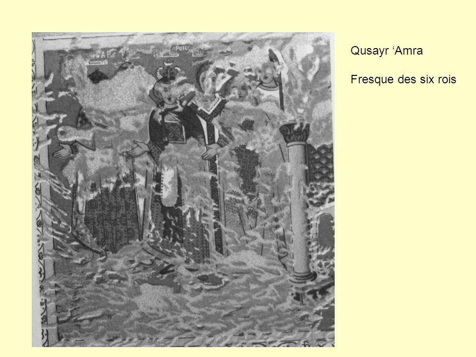 Qusayr Amra Fresque des six rois