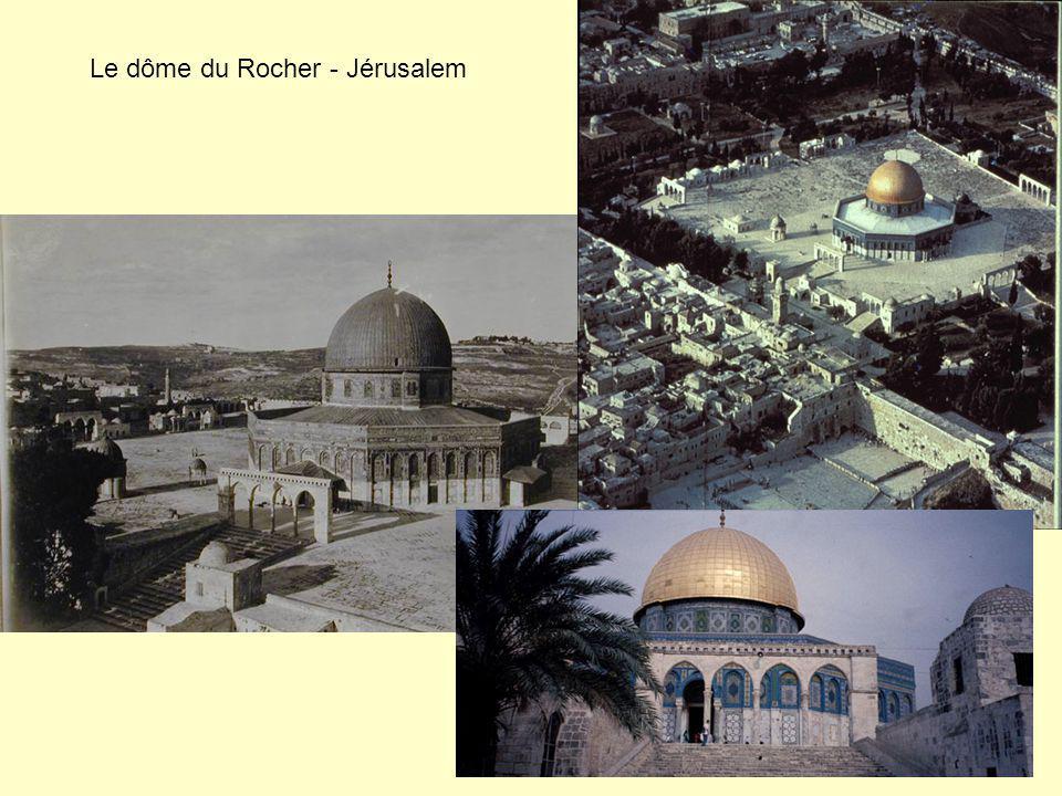 Le dôme du Rocher - Jérusalem