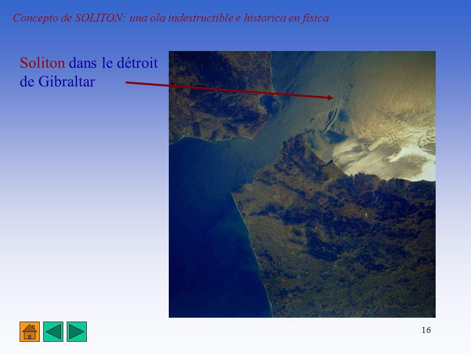 16 Concepto de SOLITON: una ola indestructible e historica en fisica Soliton dans le détroit de Gibraltar