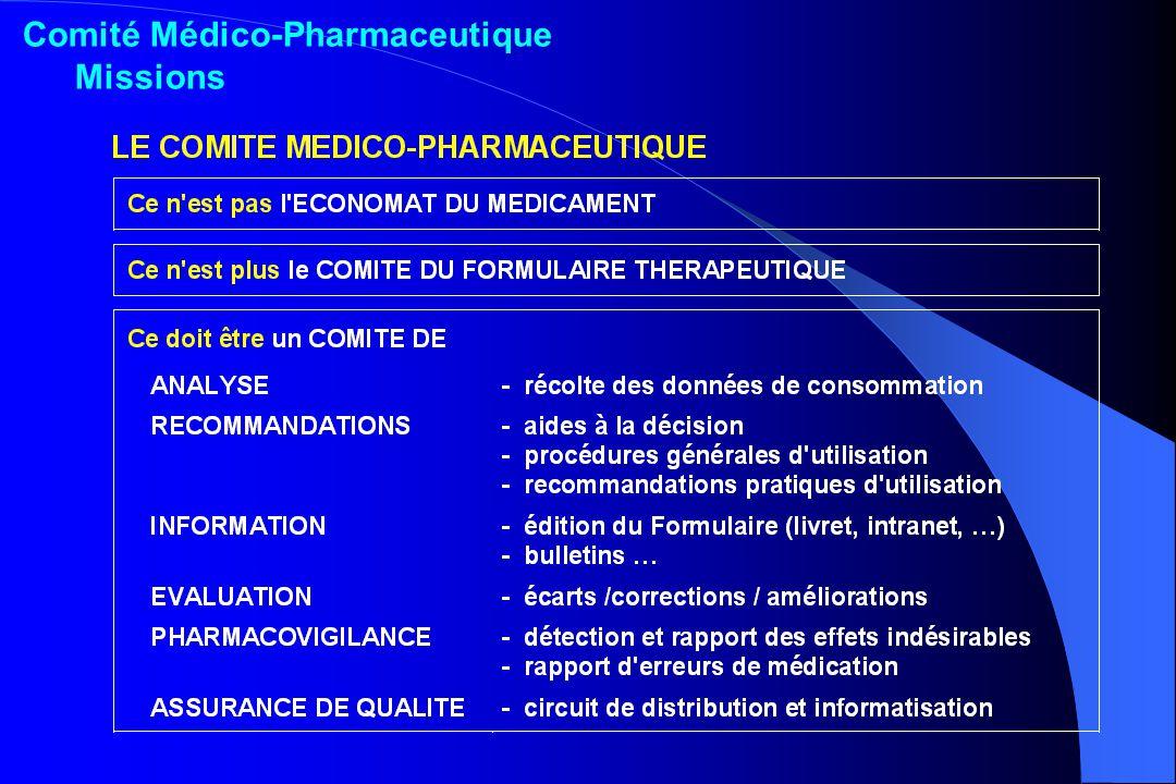 Comité Médico-Pharmaceutique Missions