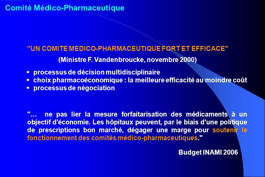 processus de décision multidisciplinaire choix pharmacoéconomique : la meilleure efficacité au moindre coût processus de négociation