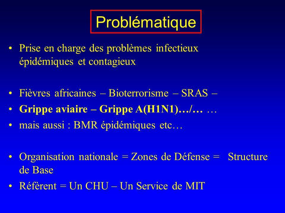 Prise en charge des problèmes infectieux épidémiques et contagieux Fièvres africaines – Bioterrorisme – SRAS – Grippe aviaire – Grippe A(H1N1)…/… … ma