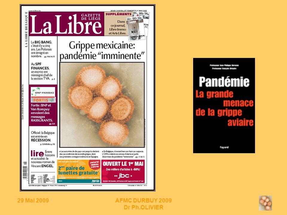29 Mai 2009AFMC DURBUY 2009 Dr Ph.OLIVIER INVENTAIRE : modèles mathématiques & hospitalisation