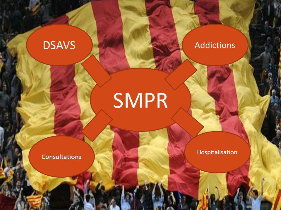 SMPR DSAVS Addictions Consultations Hospitalisation