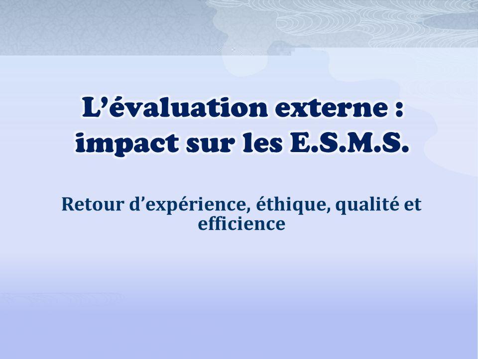 Retour dexpérience, éthique, qualité et efficience