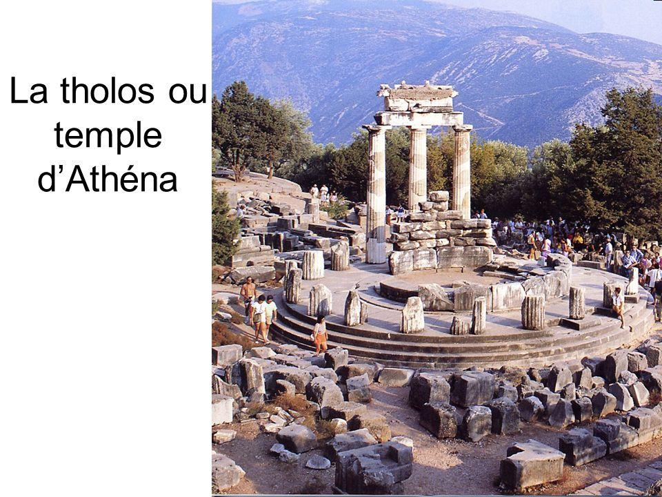 La tholos ou temple dAthéna