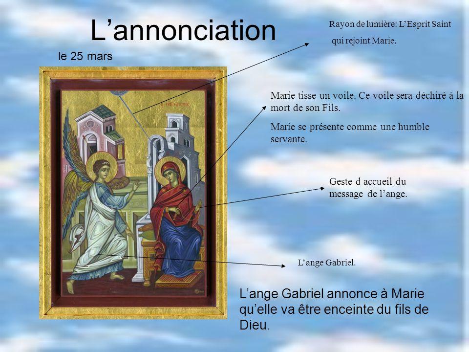 Assomption de Marie Trois jours après la mort de Marie, visitant le tombeau avant de se séparer, ils furent les heureux témoins d une grande merveille.