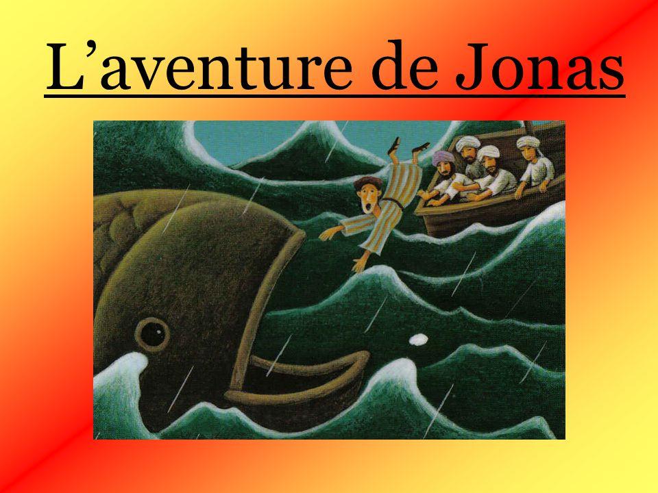 Jonas entra dans la ville de Ninive et mit trois jours pour la traverser.
