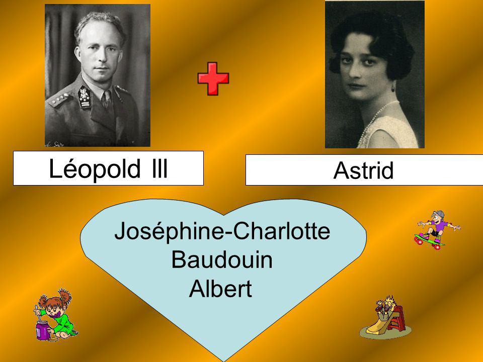 Astrid Léopold lll Joséphine-Charlotte Baudouin Albert