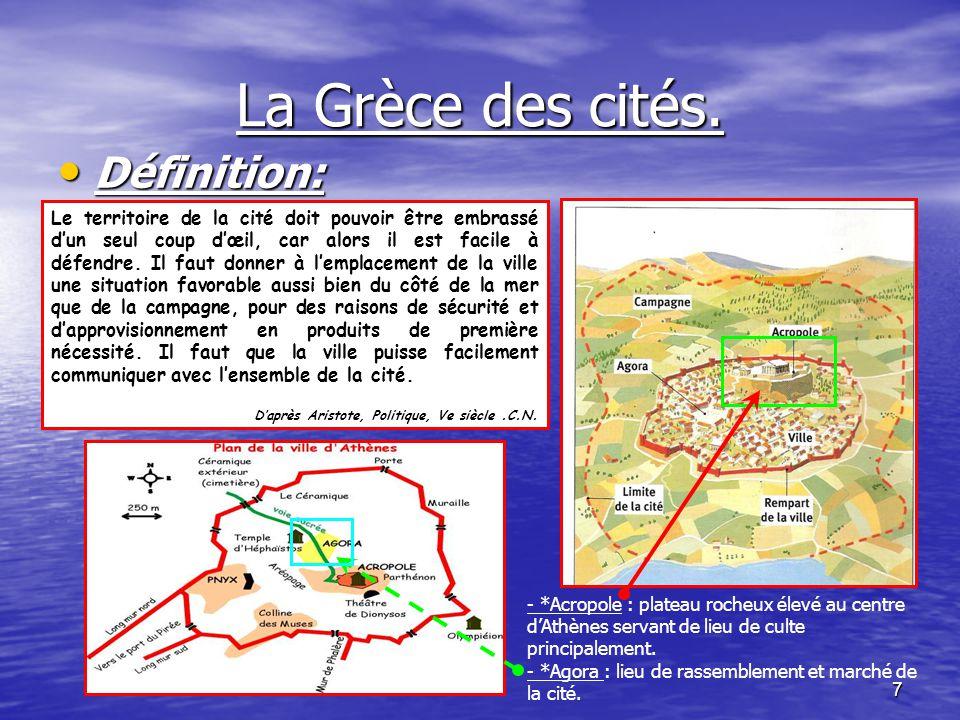 6 SYNTHESE. La Grèce est un pays du bassin méditerranéen situé au sud-est de lEurope. Le pays est disloqué : il se compose de nombreuses îles. Les mon