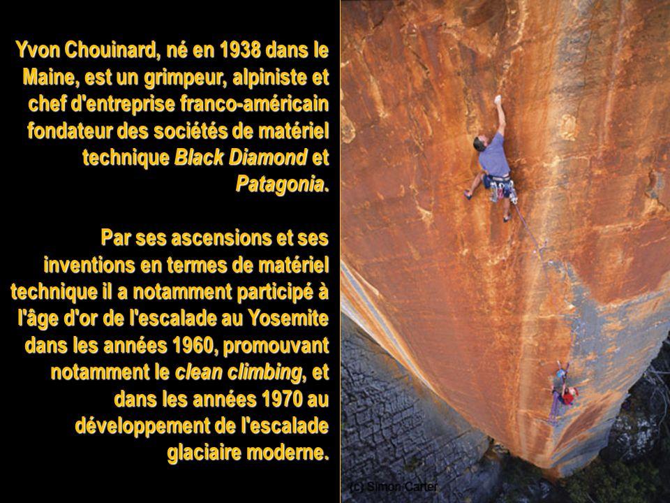Royal Robbins (né en 1935) est un grimpeur et alpiniste américain. Il a été l'une des figures de l'âge d'or de de la conquête des Big walls au Yosemit