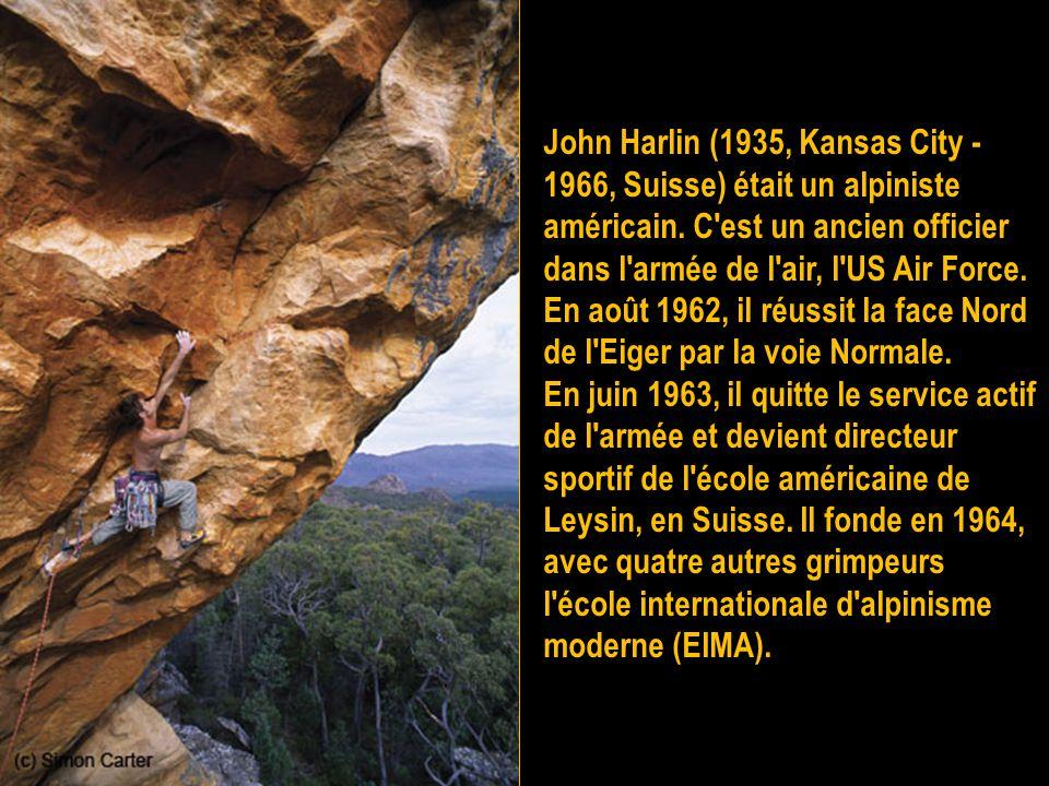 Yvon Chouinard, né en 1938 dans le Maine, est un grimpeur, alpiniste et chef d'entreprise franco-américain fondateur des sociétés de matériel techniqu