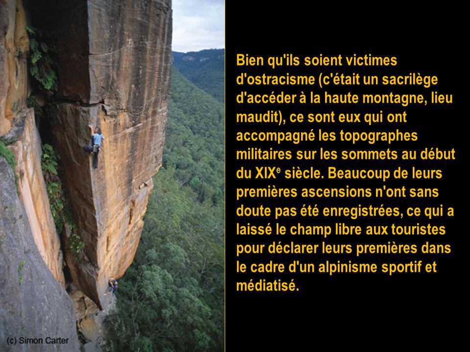 L'ascension en haute montagne alpine a été depuis longtemps pratiquée, comme en témoigne Ötzi entre 3 350 et 3 100 av. J.-C. par les habitants des Alp