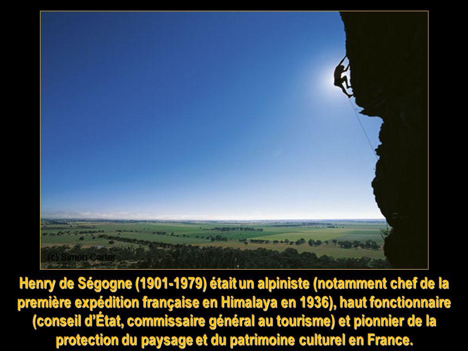 Les Français Pierre Allain (né en 1904, mort en 2000) est lun des plus grands alpinistes et grimpeurs français et mondiaux. Il est considéré comme