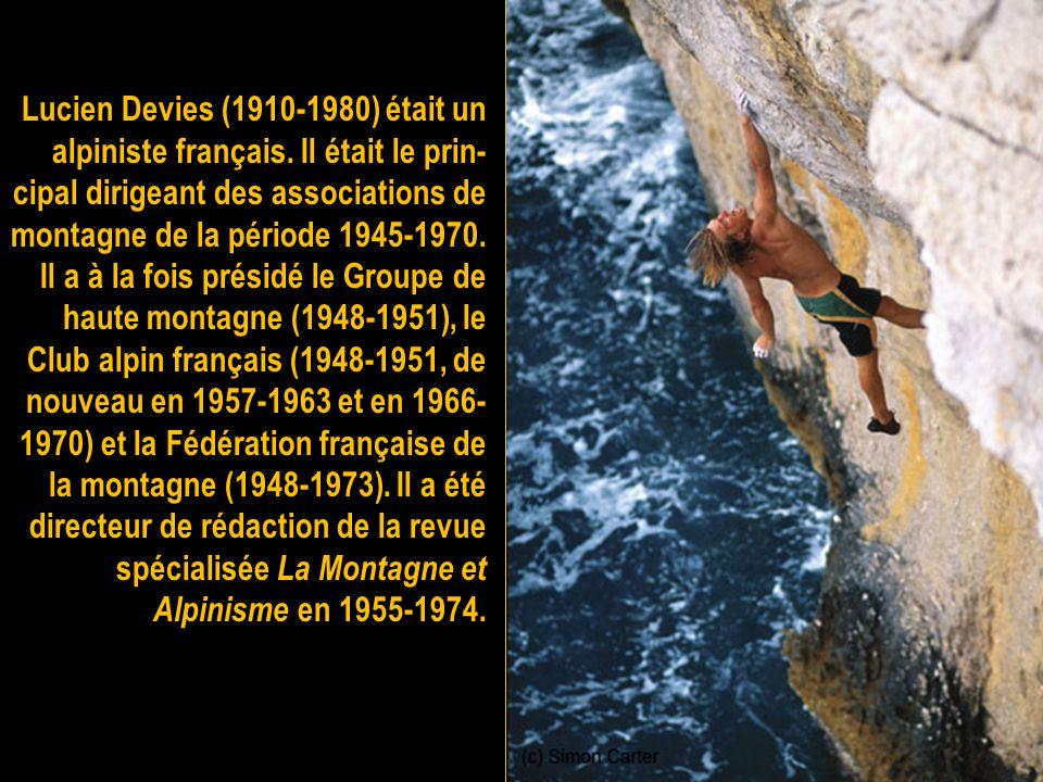 Roger Frison-Roche (né à Paris le 10 février 1906 - mort à Chamonix-Mont-Blanc le 17 décembre 1999 où il est enterré) est un explorateur et écrivain f