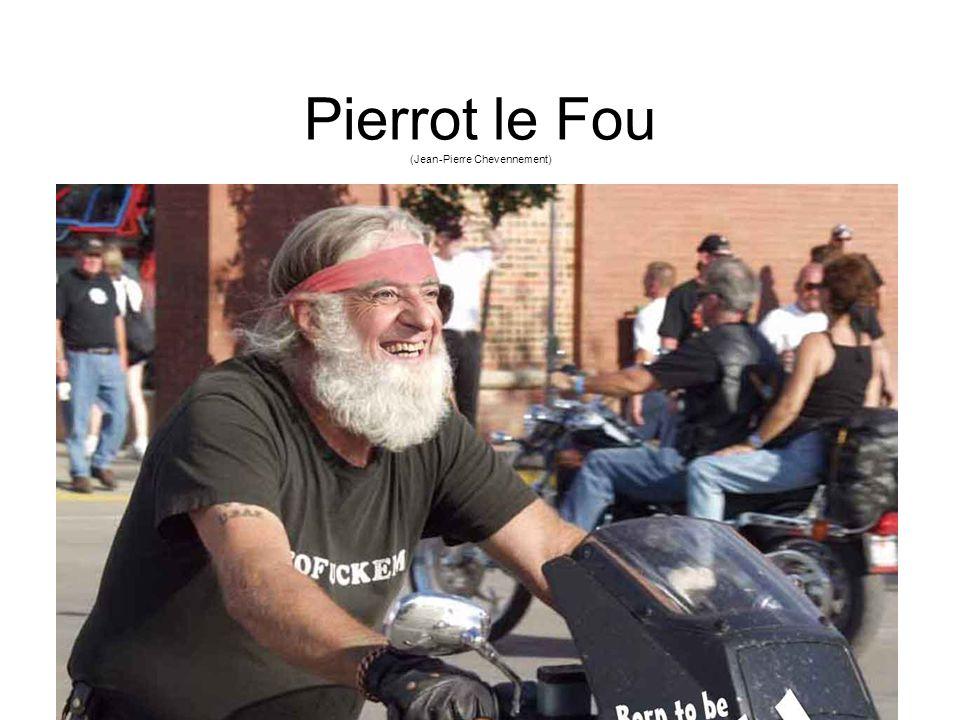 Pierrot le Fou (Jean-Pierre Chevennement)