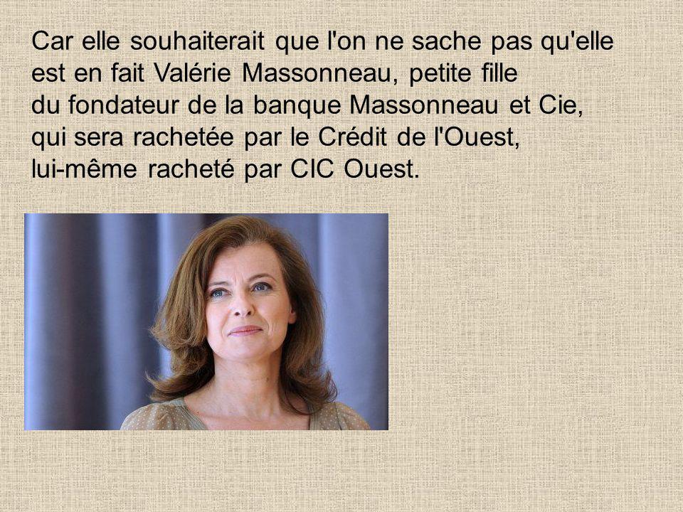Maintenant, le président normal est en couple avec Valérie Trierweiler, du nom du mari dont elle n'a pas encore divorcé.. Le mari Denis Trierweiler