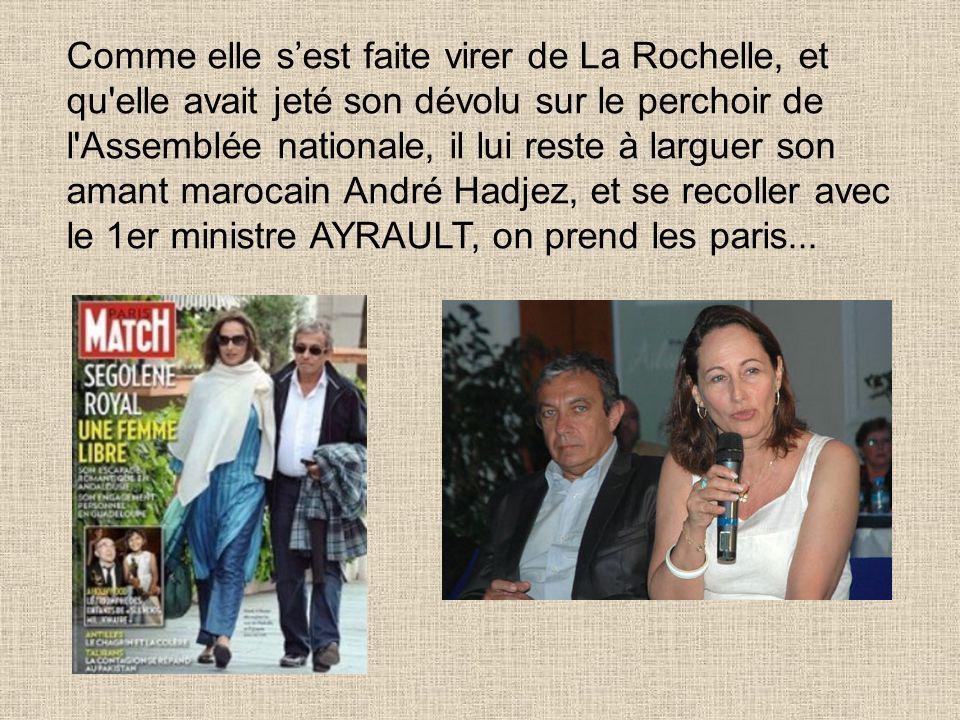 Pendant cet interlude, Ségolène Royal s'est tapée Jean Marc Ayrault...