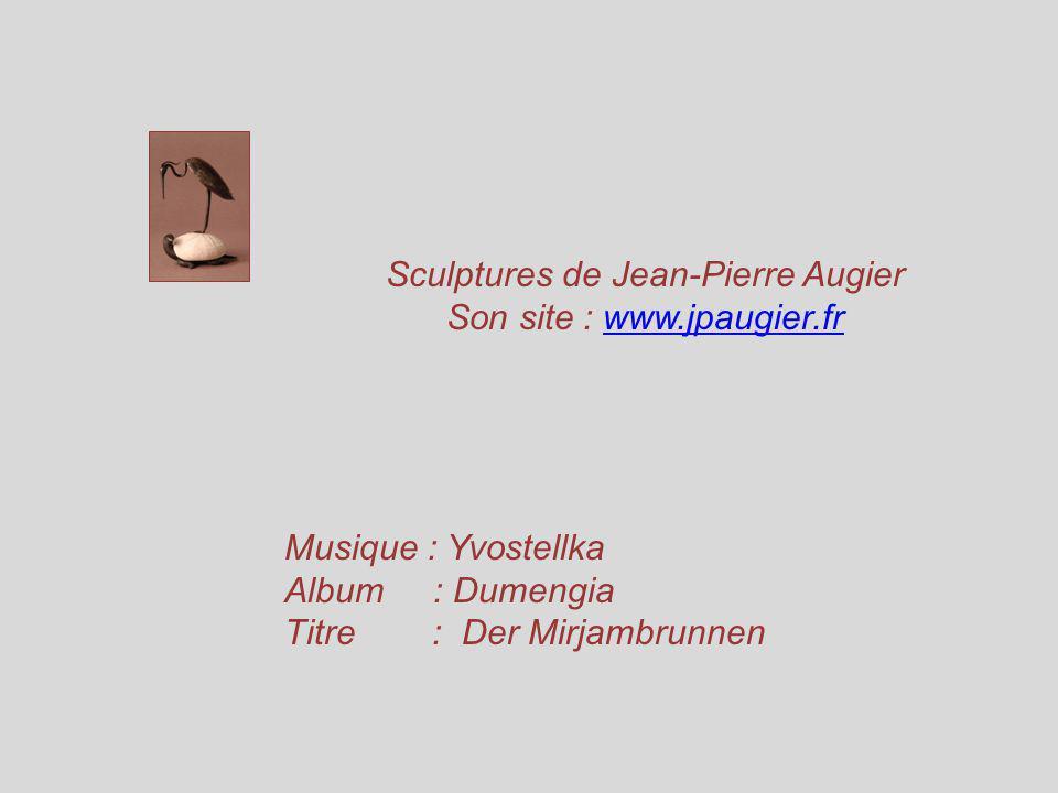 Je remercie Jean-Pierre Augier pour son aimable autorisation dutiliser les photos de ses œuvres pour faire mon diaporama. Il me précise que lexpositio
