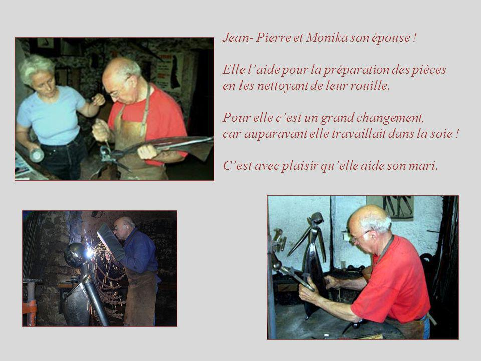 Jean- Pierre et Monika son épouse .