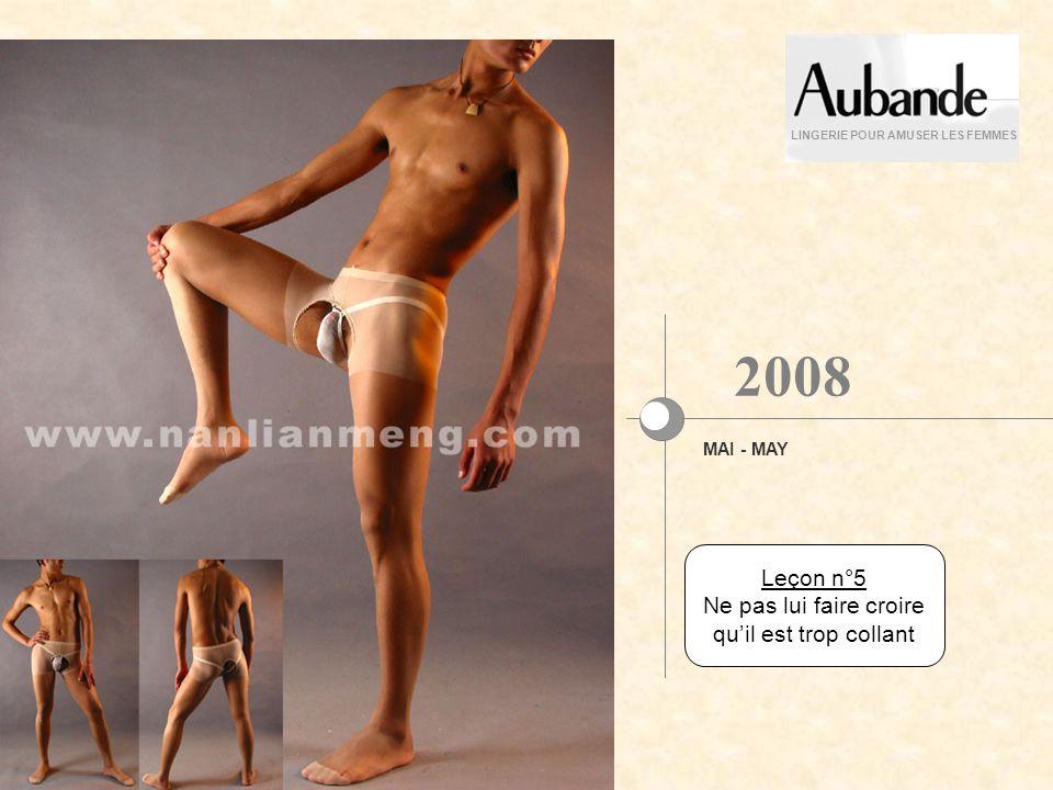Leçon n°4 En avril, le couvrir dun fil LINGERIE POUR AMUSER LES FEMMES AVRIL - APRIL 2008
