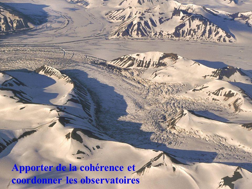 Apporter de la cohérence et coordonner les observatoires
