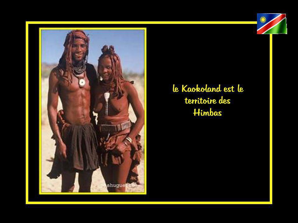 le Kaokoland est un territoire à l écart des grands itinéraires touristiques.