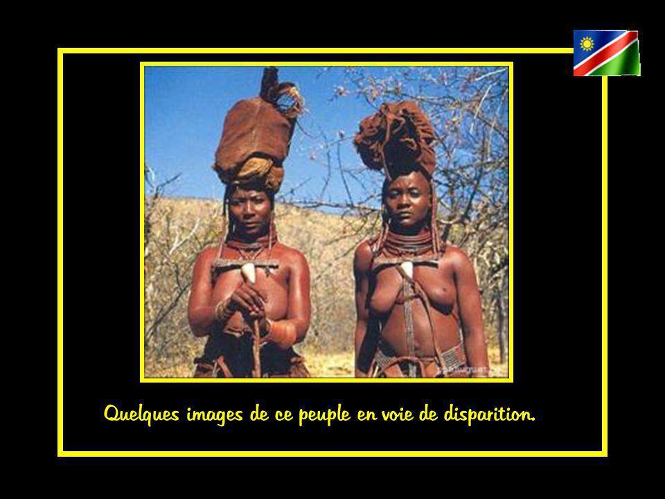 le Kaokoland est le territoire des Himbas