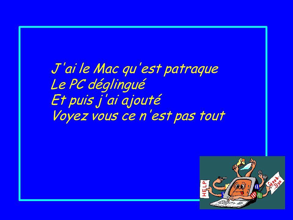 Images : Gifs du net Conception : Huguette huguette32@hotmail.com novembre 2005 Diaporamas dédié aux doux dingues de linformatique : Mélodie, Théreza, Jacky, Laurent ……..